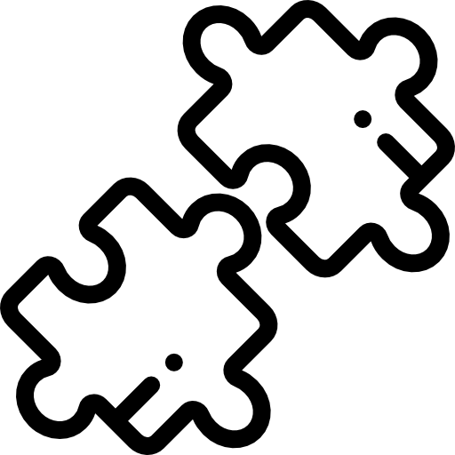 Icon of a puzzle piece, representing Strategy